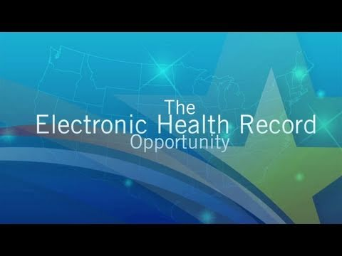 The Electronic Health Record Opportunity