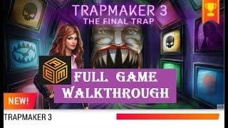 AE Mysteries TRAPMAKER 3   walkthrough  FULL.