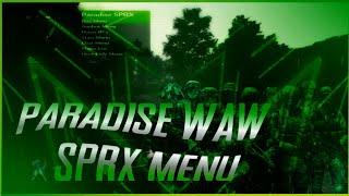 [ps3/waw] Paradise Sprx Mod Menu Pre-game Non-host (anticheat,unlockall & More)