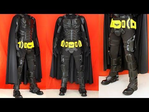 3D Printed Batman Cosplay Suit #5 with Ninjaflex | XRobots