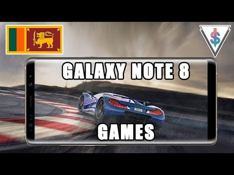 Top 8 Games for the Samsung Galaxy Note 8