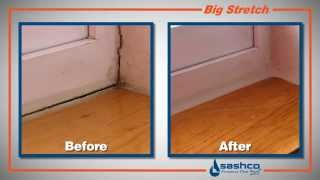 How to Seal Windows and Doors Using Big Stretch