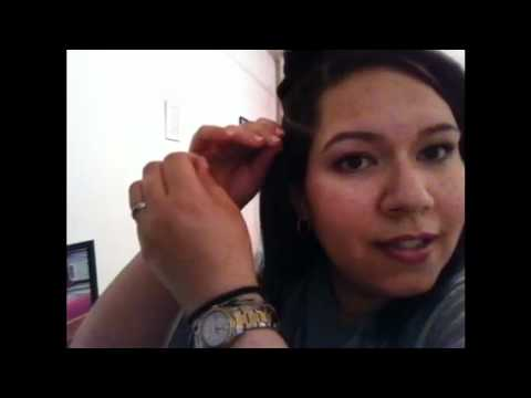 how to put on FEATHER HAIR EXTENSIONS