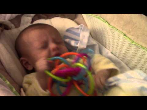 Baby sneezes 100 times in 90 seconds!