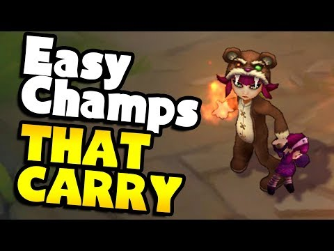 6 Easy Champs That CARRY - League of Legends