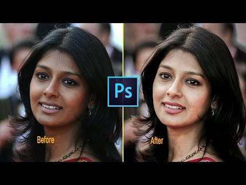 Photoshop cc Tutorial: How to change skin color