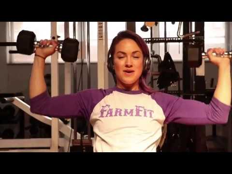 Weights For Women:  Metabolic Shoulder Workout (Burn More Fat, Build Lean Muscle)
