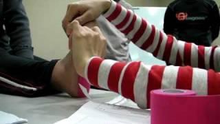 肌內效實作示範  講師: 阿桂教練 影片剪接: 小羅教練 麻豆: 好心人