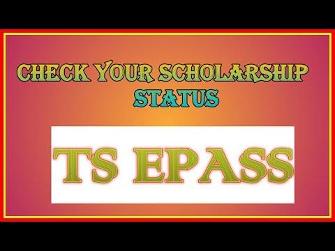 Check your scholarship status epass | Telangana Epass | school's and college's scholarship status