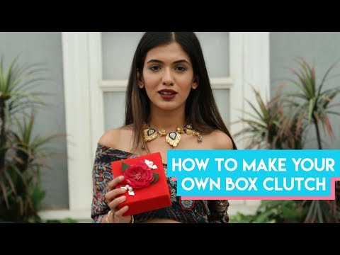 How To DIY your own box clutch!