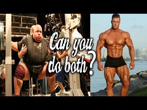 CAN YOU BODYBUILD AND POWERLIFT AT THE SAME TIME?