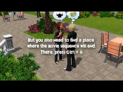 the sims 3 - Tutorial, Camera sequences HD