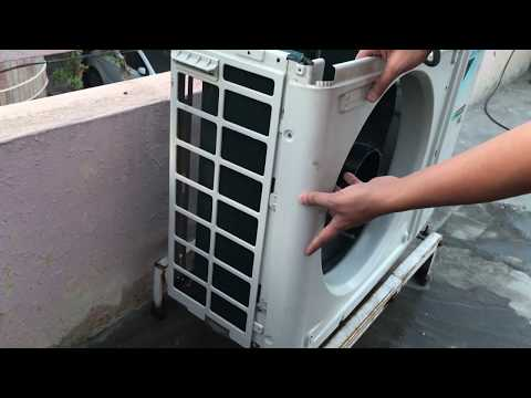 How to Clean Air Conditioner Outside Unit at Home || Step by Step ||
