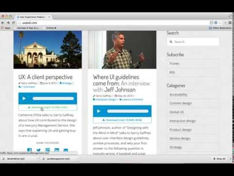 uxpod download link with HTML5 download attribute