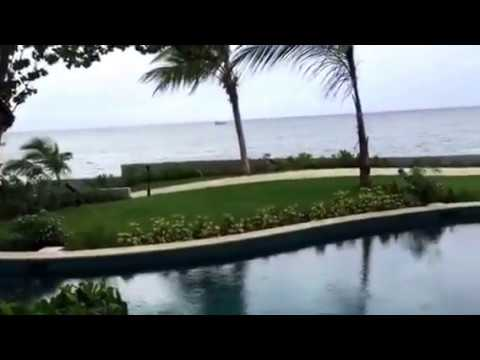 Oceanfront Swim-up Butler Suite with Patio Tranquility Soaking Tub At Sandals Montego Bay