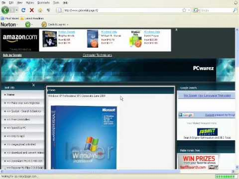 Window Xp SP3 for free
