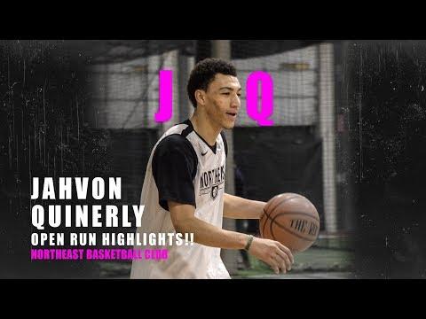Jahvon Quinerly SHOWS OFF HANDLES At Northeast Basketball Club Run!!