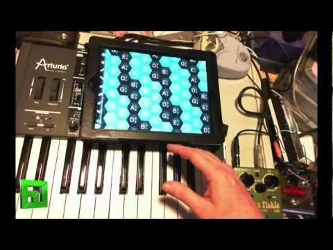 Musix iPad Midi Controller App with Maschine