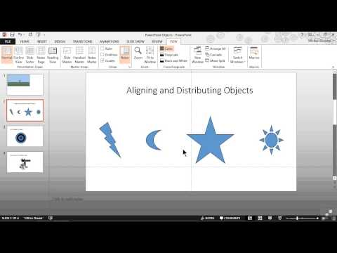 Microsoft Powerpoint 2013 Tutorial   Enabling Gridlines And Guides
