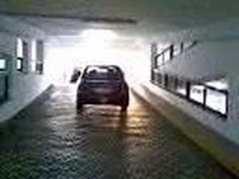 Slope practise in HDB car park