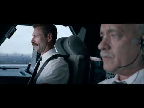 Plane Hits the Birds | Sully (2016) | 1080p BluRay HD