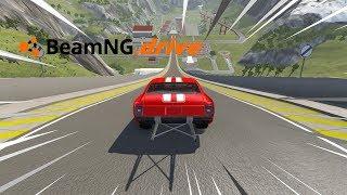 BeamNG drive - CARRO DE ARRANCADA VS RAMPA.