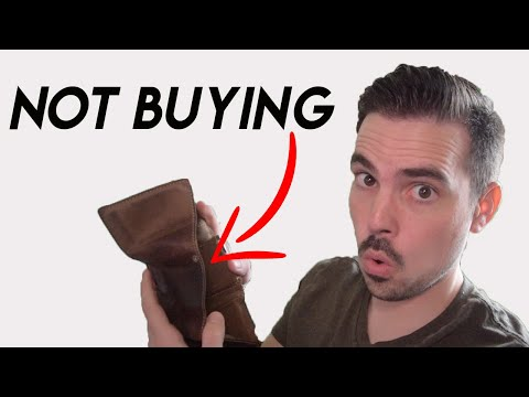 10 Things I Don't Spend Money On