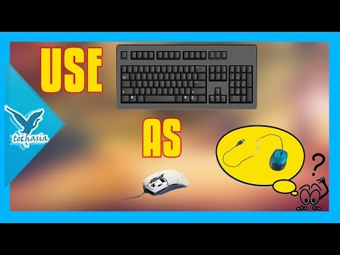How to Use keybaord as a mouse( whenever u have no mouse only keyboard)