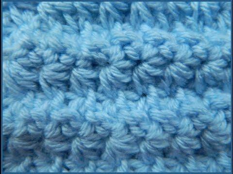 Crochet Star Stitch aka Daisy Stitch