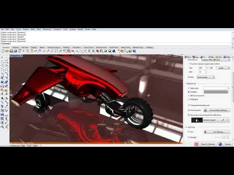 Rhino 6 Material and Rendering Demo
