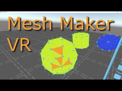 Mesh Maker VR - Colors, Sky, and Primitives