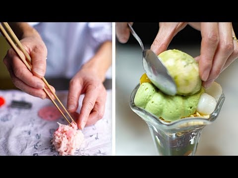 How Beautiful Japanese Desserts Are Made