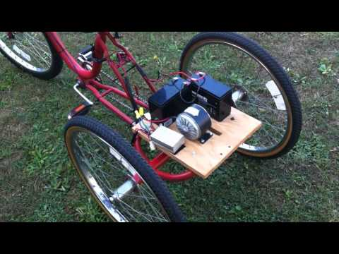 Electric Trike Project - Part 1
