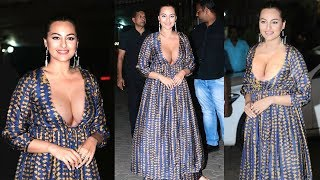 Gorgeous Sonakshi Sinha's H0T & Beautiful Look At Khandani Shafakhana's Special Screening