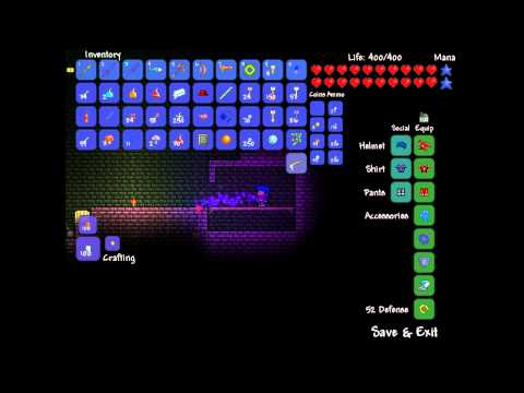 [Terraria Trick] How to get Goldenkey (safe and simply)