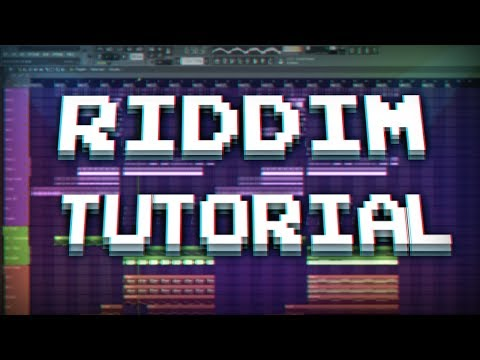 HOW TO MAKE A WONKY RIDDIM DROP (FL STUDIO)