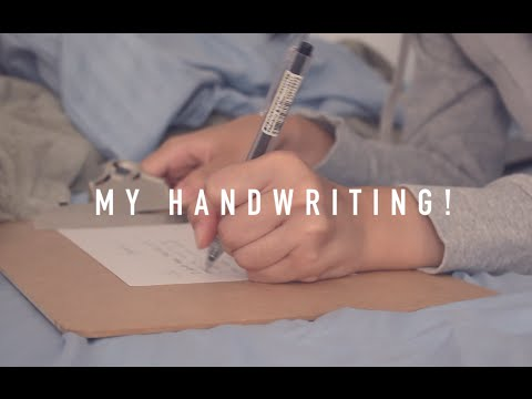 My Handwriting + How to Improve Yours!
