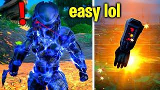 How To EASILY Defeat Boss Predator! (Fortnite Predator Challenges)