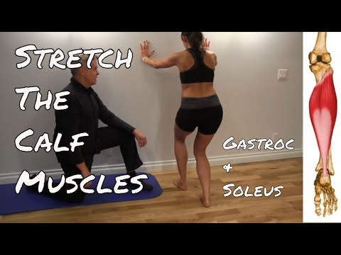 Stretching Your Calf Muscles - Kinetic Health