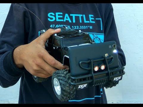 Homemade spy gadgets - Spy RC car