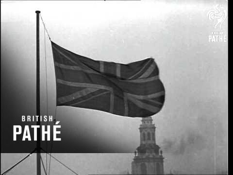 Flags At Half Mast Over London (1941)