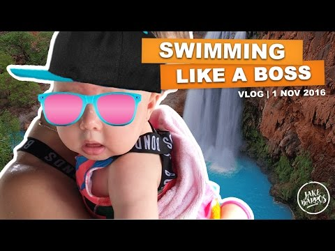 SWIMMING LIKE A BOSS