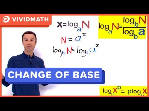 Logs Change Of Base Formula - Logarithms