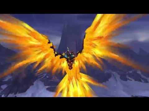 Aernath's First PTR flight in Draenor