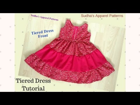 Tiered Dress Tutorial - Easy making