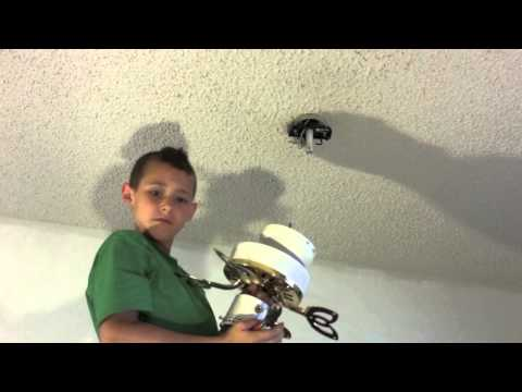 Changing Out A Ceiling Fan
