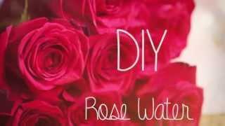 How To Make Rose Water Diy