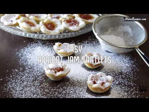 Easy Apricot Jam Tartlets