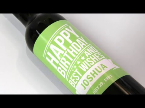 Creating Wine Labels -- StickerYou Tutorials