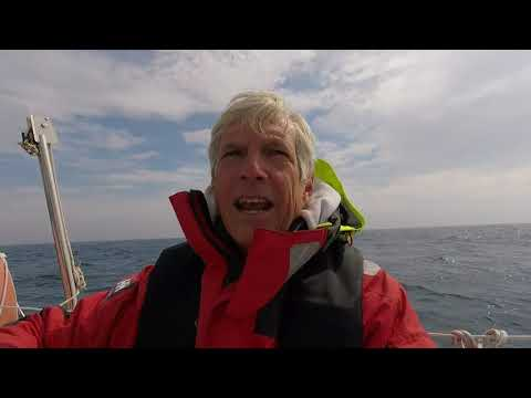 Ep 27 Sailing from Shetland to Faroe Islands Solo